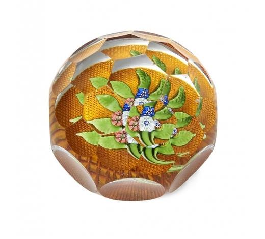 RoseberysA French glass paperweight