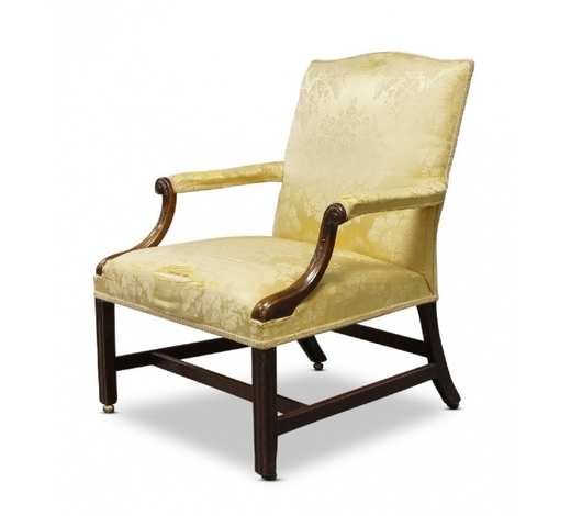 RoseberysA George III Gainsborough armchair