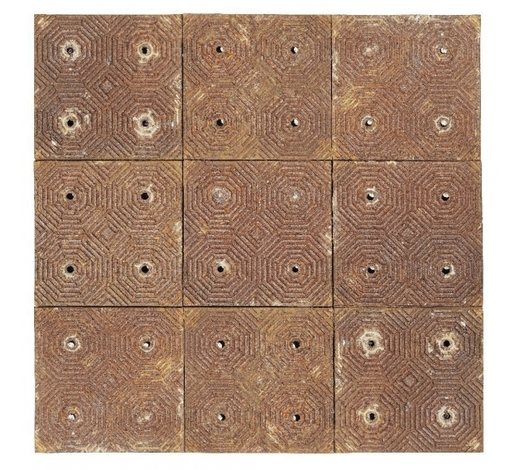 RoseberysOne hundred Victorian cast-iron floor tiles from the wine cellar of the Caf?Royal