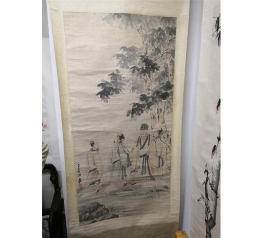 Find TreasureHand-made scroll painting Zhang Daqian