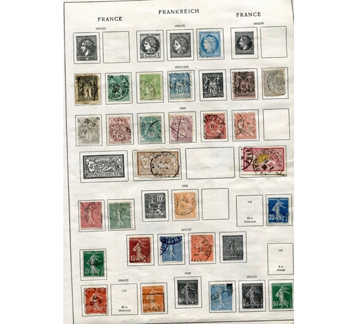 TooveysA Schwaneberger album containing world stamps