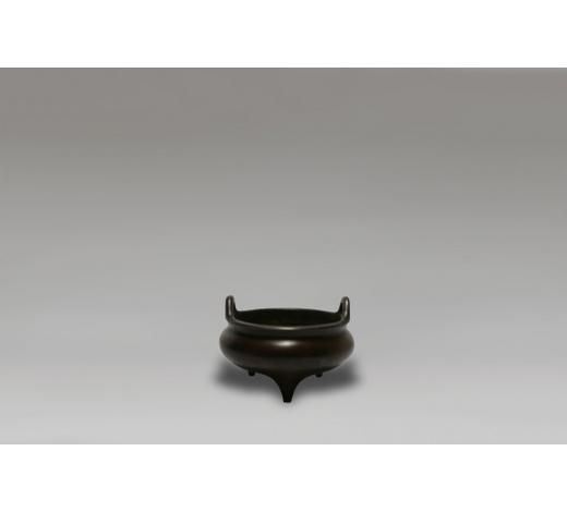Duton's17世纪冲天双耳炉 PROBABLY 17th CENTURY BRONZE CENSER