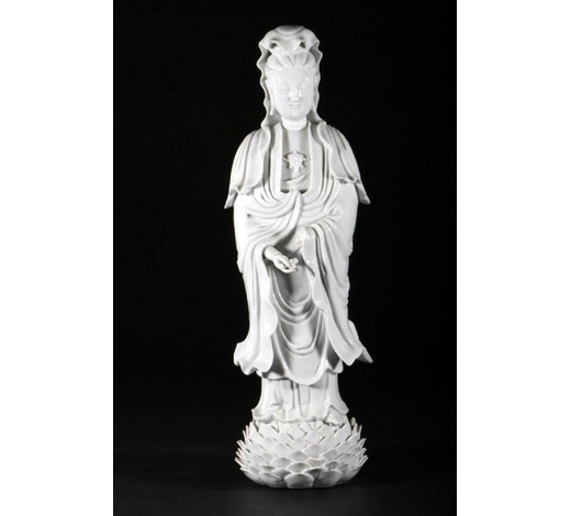 Turner Auctions and Appraisals LLCA STANDING FIGURE OF GUANYIN