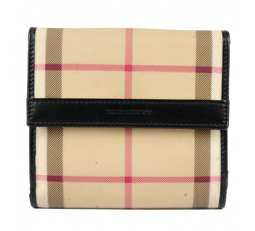 FellowsBURBERRY - a Haymarket Check wallet