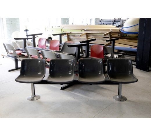DVCseveral sets of chairs (some with a small table) - some are marked