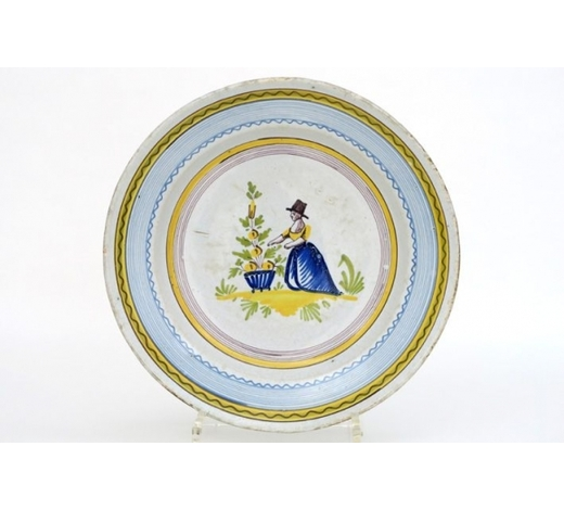 DVCantique dish in ceramic from Brussels