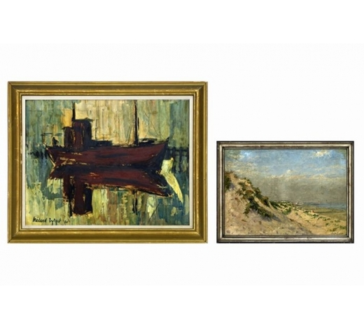 DVCtwo 20th Cent. Belgian paintings