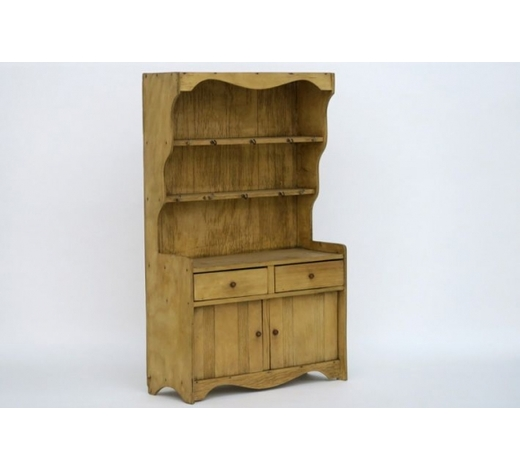 DVCantique doll's house dresser-board in pine