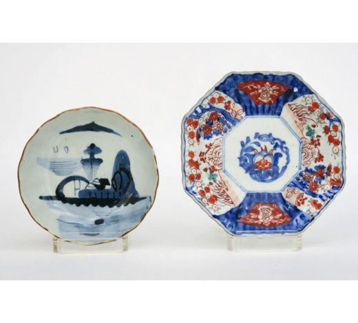DVC2 small Japanese dishes in porcelain