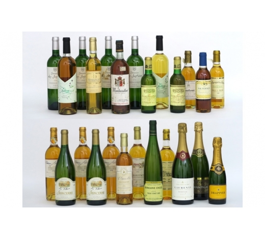 DVC25 bottles of white wine