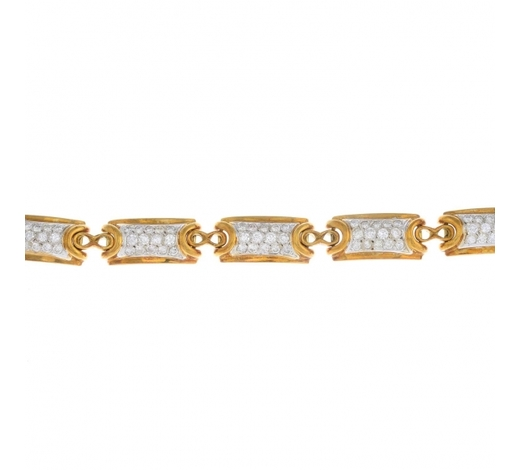 FellowsA diamond bracelet