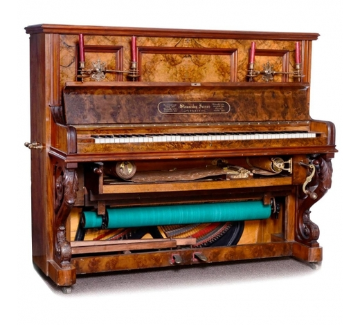Auction Team BrekerStransky Frères Paris, Piano with System Hupfeld Piano Player, c. 1898