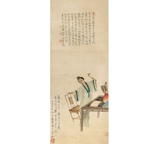 北京翰海钱杜(1764-1845) 仕女