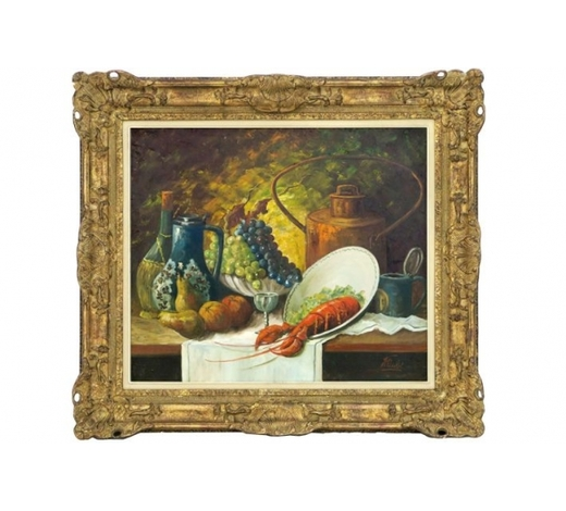 DVC20th Cent. oil on canvas - with illegible signature
