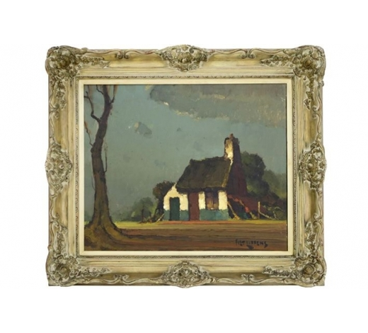 DVC20th Cent. Belgian oil on canvas - signed Piet Lippens