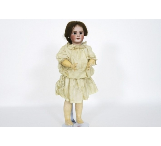DVCantique  Armand Marseilledoll with porcelain head - marked