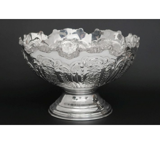 DVCquite big silverplated Regency style winecooler