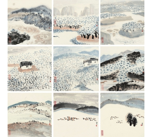 上海嘉泰萧海春(b.1944年) 西北风情