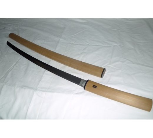 Affinity AntiqueAntique Japanese Sword Signed Shinto Kawachi Daijo