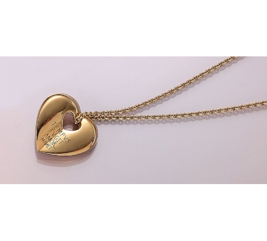 Henry's18 kt gold WEMPE pendant with chain