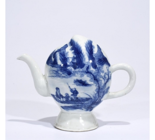Galaxy Auction IncMarked Blue And White 'Landscape' Ewer