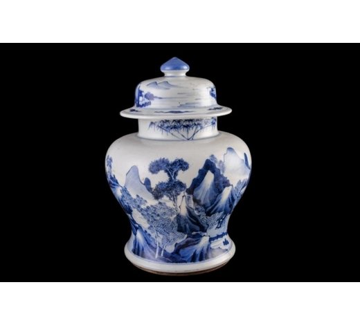Galaxy Auction IncGuangxu Imitate Kangxi Blue And White Jar