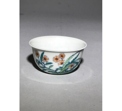 Galaxy Auction IncYongzheng Marked Doucai 'Butterfly' Cup