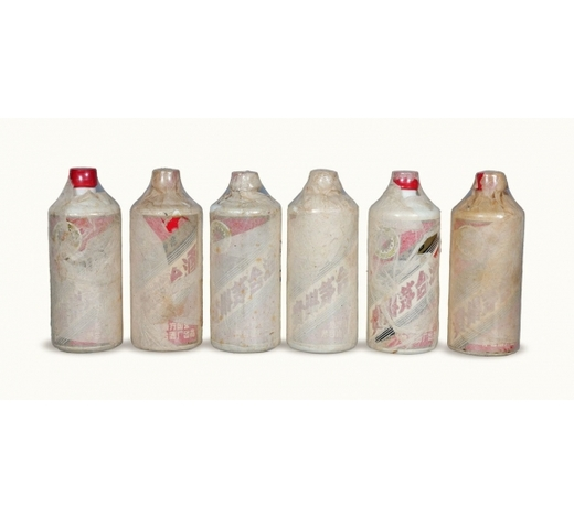 北京荣宝80年代产五星牌全棉纸地方国营贵州茅台酒