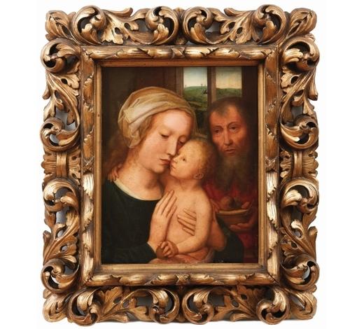 SchlosserDie Heilige Familie — Flämischer Meister des 18./19. Jahrhunderts