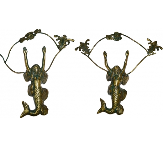 EPINT'S AUCTIONQing Dynasty style human face fish ornaments