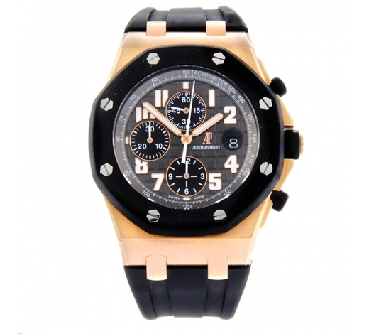 FellowsAUDEMARS PIGUET - a gentleman's Royal Oak Offshore chronograph wrist watch