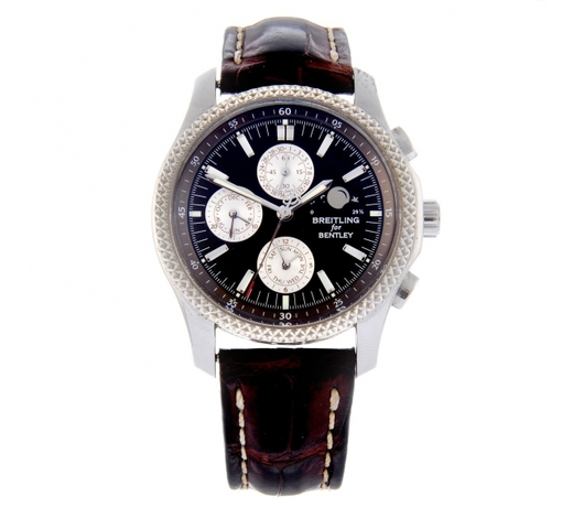 FellowsBREITLING - a gentleman's Breitling for Bentley Mark VI Complications chronograph wrist watch