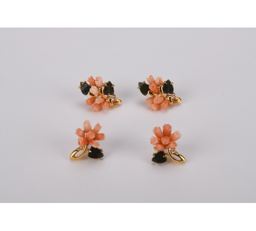 Margarita Auction CoCoral earings*4pcs