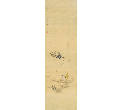 上海嘉泰潘静淑(1892-1939年) 花蝶