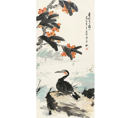 上海嘉泰唐逸览(b.1942年) 花鸟