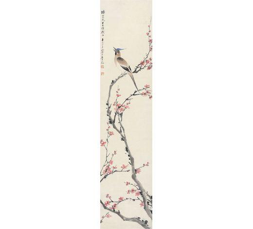 上海嘉泰江寒汀(1903-1963年) 花鸟