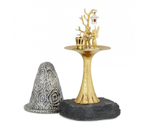 RoseberysChristopher Nigel Lawrence: a limited edition silver and silver-gilt novelty toadstool