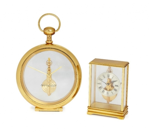 RoseberysA Jaegar-Le-Coultre 8 day desk clock