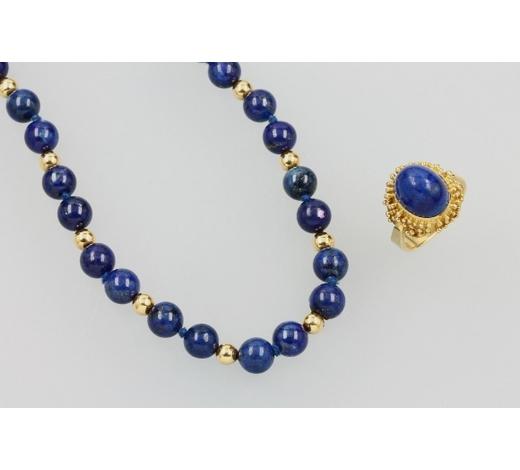 Henry'sJewelry set with lapis lazuli