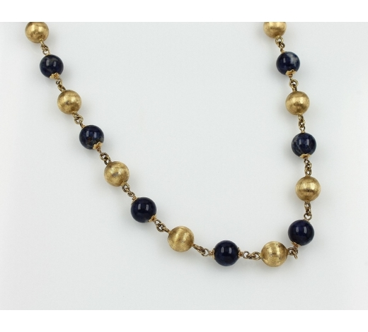 Henry'sNecklace with lapis lazuli