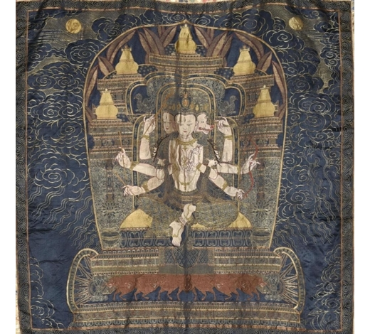 Galaxy Auction IncAn Embroidery Multi-Armed Guanyin