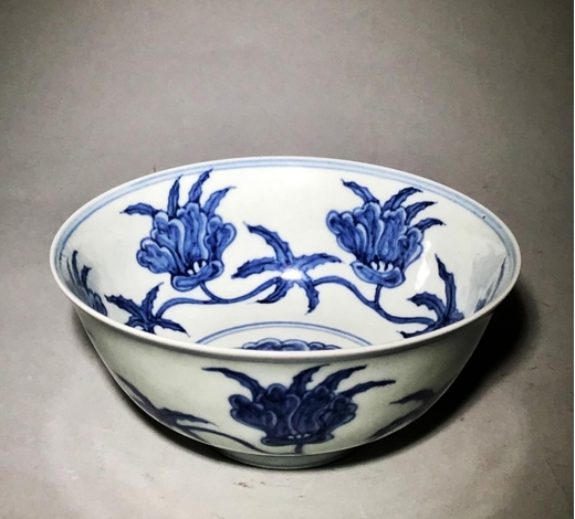 Galaxy Auction IncChenghua Marked Blue And White 'Flower' Bowl