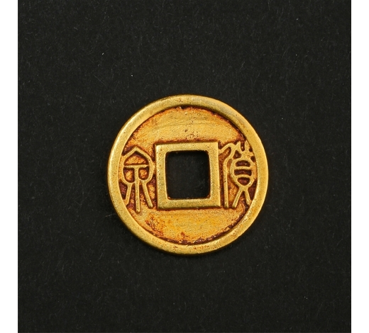 New Castle Art & Antique GalleryCHINESE PURE GOLD COIN