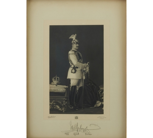 Revere AuctionsKaiser Wilhelm Signed Photo