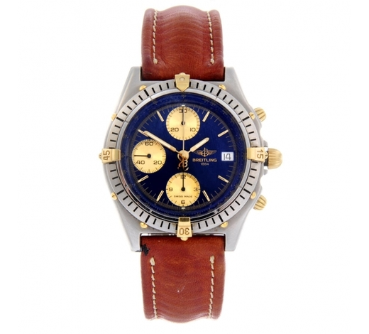 FellowsBREITLING - a gentleman's Chronomat chronograph wrist watch
