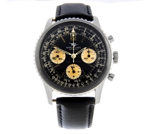 FellowsBREITLING - a gentleman's Navitimer chronograph wrist watch