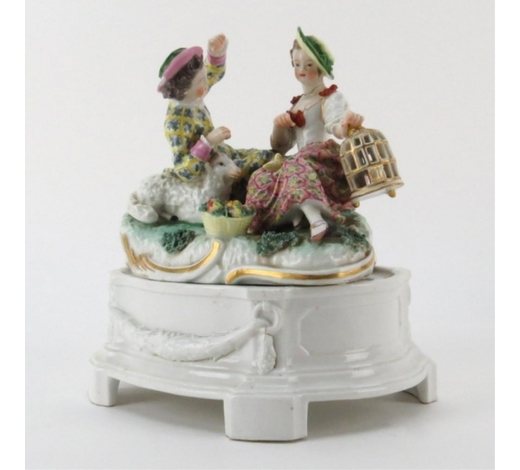 Kodner GalleriesAntique Dresden Porcelain Group
