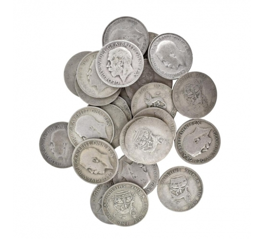 Kodner GalleriesUnited Kingdom Silver One Shilling