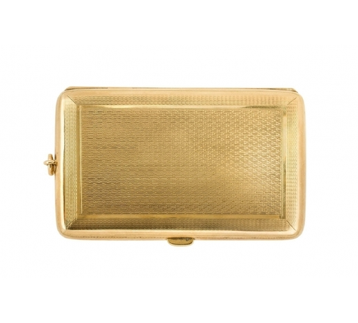 RoseberysA 9ct gold compendium sovereign case by Deakin & Francis
