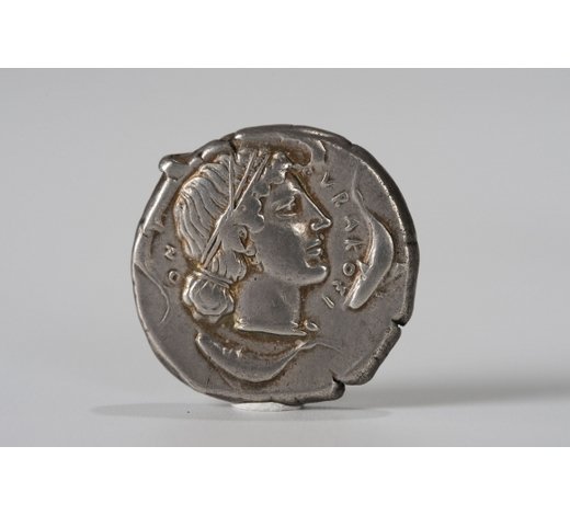 Clearmont AuctionsWESTERN STYLE SILVER COIN